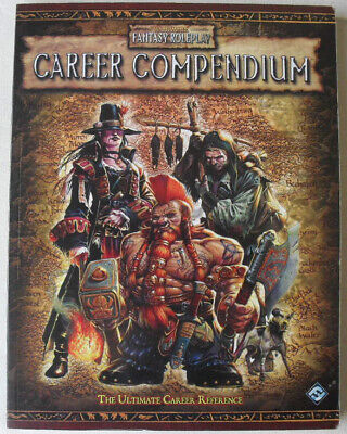Career Compendium. Warhammer Fantasy Role Play 2nd Edition. Rare OOP WHFRP. • 40£