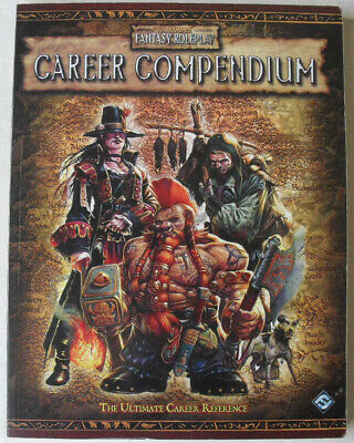 Career Compendium. Warhammer Fantasy Role Play 2nd Edition. Rare OOP WHFRP. • 55£
