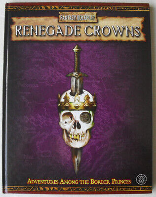 Renegade Crowns. Warhammer Fantasy Role Play 2nd Edition. OOP WHFRP. • 40£