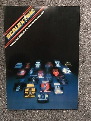 Vintage Scalextric Catalogue 20th Edition 1979 • 21£