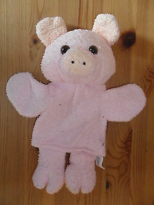 Pig Hand Puppet - Soft Toy - Cuddly Toy • 0.99£