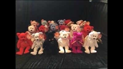 TY Bears (18) - New W/tags.  P&P Included. • 50£