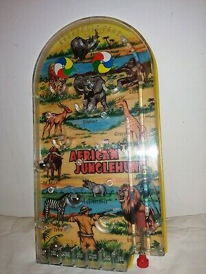 50s 60s? Bagatelle Game African Junglehunt • 12£