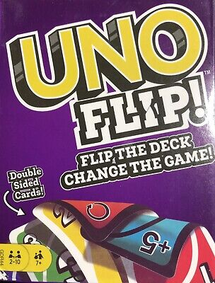 Mattel Games GDR44 Flip Card Game, Multi Colored Exciting New Twists From Uno • 3.45£