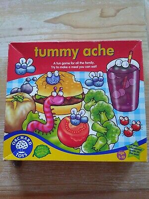 Orchard Toys Tummy Ache Board Game Ages 3-10 • 3.22£