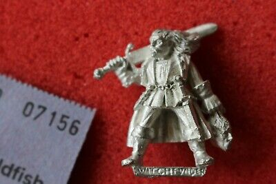 Games Workshop Mordheim Mordheim Witch Hunter Captain Warhammer Metal Figure New • 24.99£