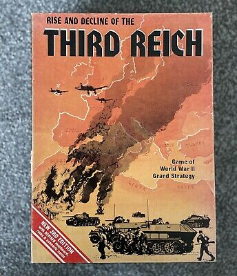 Rise And Decline Of The Third Reich - Vintage Board Game 1974  - Boxed • 5.50£