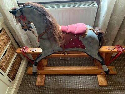 J Collinson & Sons Rocking Horse Wooden Very Old Antique  • 189£