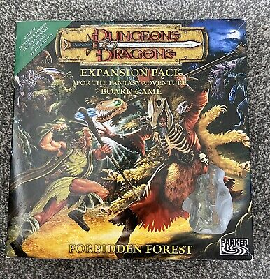 Dungeons & Dragons Expansion Forbidden Forest Board Game • 13.50£
