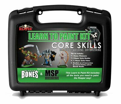 Reaper Miniatures Bones - 08906 : Learn To Paint : Core Skills • 34.99£