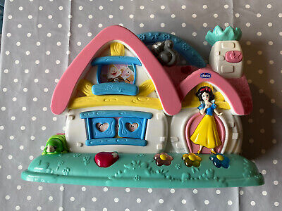 Chicco Snow White Disney Princess Musical Cottage Activity Baby Lights Sounds • 3.20£