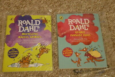 2 X Roald Dahl Mcdonalds Happy Meal Books New & Sealed Foxes / Animals • 3.99£