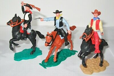 Timpo Cowboys X 3 Mounted Lot 2 • 18£