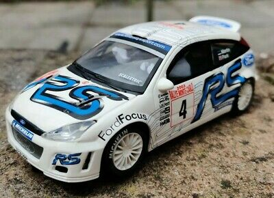 Scalextric SCX Altaya Ford Focus RS WRC Monte Carlo Good Condition • 17.66£