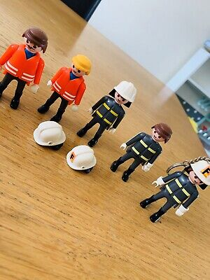 Playmobil Fire Men Figure Bundle  • 8£