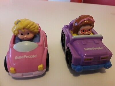 Fisher Price Little People Wheelies Cars 2 Vehicles • 4.99£