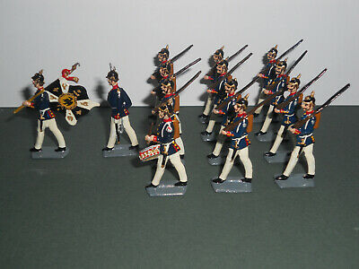 Wollner 40mm Prussian Infantry Regiment, Summer Dress,toy Soldiers • 45£