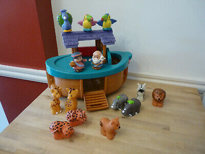 Fisher Price Little People Noah's Ark With Animals & Figures • 14.99£