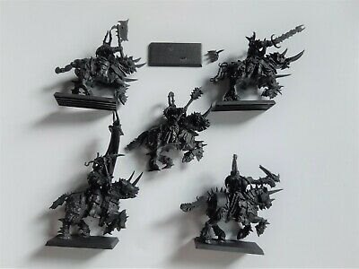 Warhammer Fantasy / AoS Slaves To Darkness Chaos Knights X 5 • 4.50£