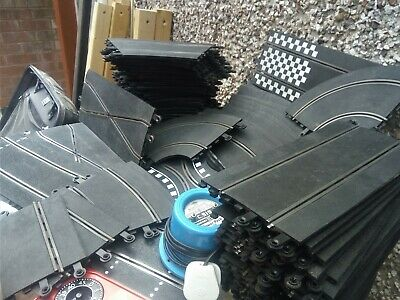 Vintage Scalextric. Massive Amount Of Track + Power Pack  JOB LOT  • 15£