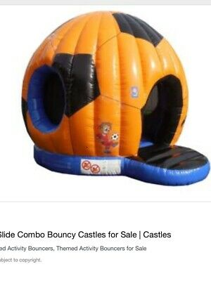 Bouncy Castle Football Dome • 800£