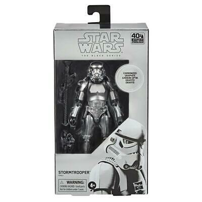 Star Wars 6 Inch Black Series Carbonized Stormtrooper Action Figure New & MISB • 28.99£