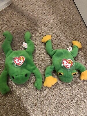 Ty Beanie Babies Smooch The Frog And Legs The Frog- Retired, Rare! • 1.50£