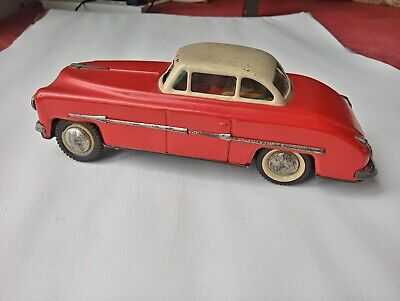 Tin Plate Car Vintage Friction Drive 50s/60s • 20£