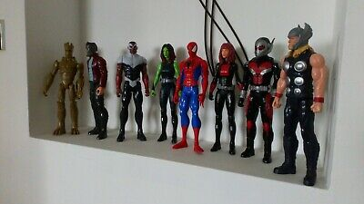 7 X 12-inch Marvel Action Figures (spiderman Not Included) • 29.95£