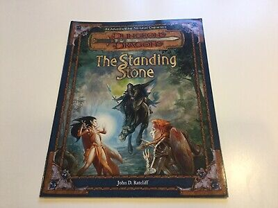 THE STANDING STONE Dungeons & Dragons Adventure 2001 AD&D 3 Ed RPG WOTC • 19.99£