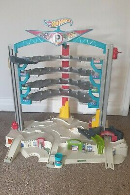 HOT WHEELS ULTIMATE GARAGE PLAYSET - Used (No Cars) • 25£