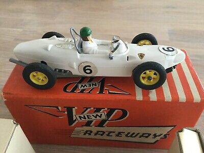 VIP Raceways F1 Slot Model Car Ferrari Ref.R. 62 R/n 6 White Boxed Rare • 79.95£