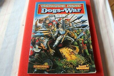 Games Workshop Warhammer Dogs Of War Army Book 1998 VGC Fantasy Empire OOP GW • 39.99£