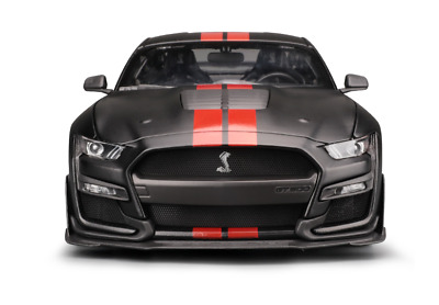 Maisto 1:18 2020 Ford Mustang Shelby GT500 Diecast Model Racing Car Black BOXED • 59.98£
