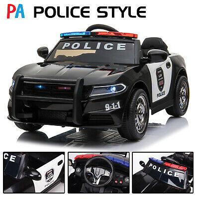 Kids Ride On 12v Electric Police Style Battery Remote Control 2.4g Toy Car • 119.99£