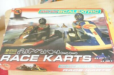 Micro Scalextric 1:64 Race Karts • 25£