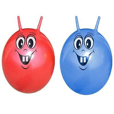 Large INFLATABLE SKIPPY SPACE HOPPER BOUNCING JUMPING BALL KIDS FUN GARDEN GAME • 6.95£