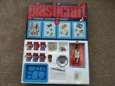 Plasticraft Plastic Casting Toy Scientific Jewellery 1970s Vintage Collectable • 29.99£