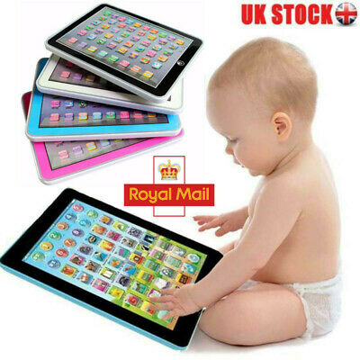 Kids Children Tablet IPAD Educational Learning Toys Gift For Girls Boys Baby Toy • 7.99£