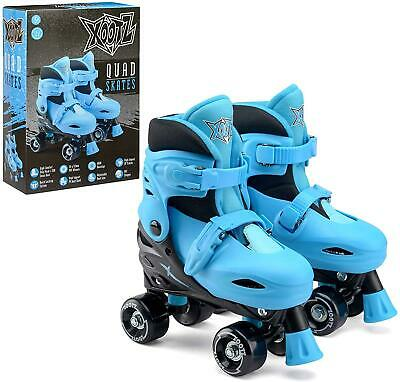 Boys Adjustable 4 Wheel Quad Roller Skates With Cushioned Ankle Support Small • 20.61£