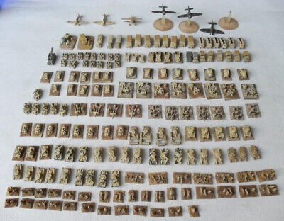 Large Painted 6mm 1/300 WW2 British Desert North Africa Army. 183 Heroics & Ros. • 20£