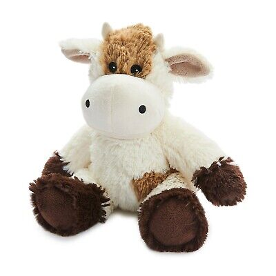 Warmies Cozy Plush Fully Microwavable CREAM COW Lavender Scented Heatable Toy • 16.95£