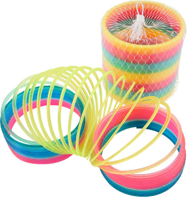 Giant Magic Rainbow Slinky Springy - 8959 Spring Colourful Childrens Classic  • 19.49£