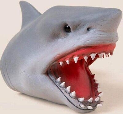 Schylling Shark Baby Finger Puppet - Sc-sbfp Stretchy Play Toy Pretend Sea Fish  • 4.99£