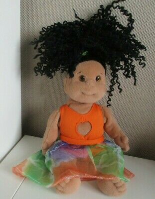 TY Beanie Kids CALYPSO Wearing Dress Outfit Soft Plush Doll Toy  28cm • 14£