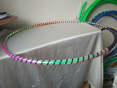 Polypro Hula Hoop - Multicoloured With Black Spiral 31  • 25£