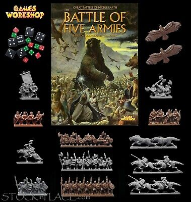 LORD OF THE RINGS > Games Workshop BATTLE OF FIVE ARMIES > 3 X 10mm Scale Stands • 4.99£