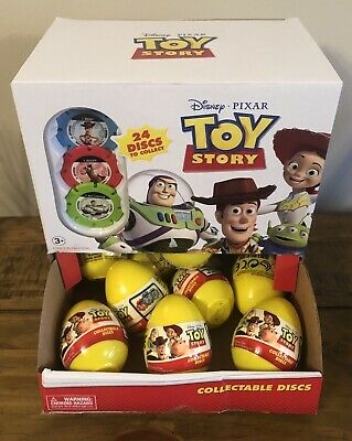 Bag Of 15X Disney Toy Story Collectable Discs Surprise Egg • 9.99£