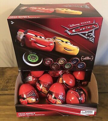 Bag Of 15 X Disney Cars Collectable Discs Surprise Egg • 9.99£