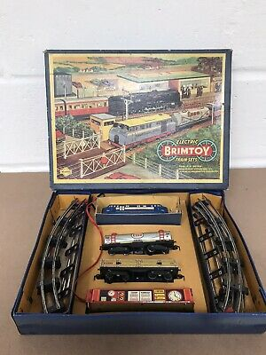 Vintage Retro Welsotoys / Brimtoy Electric Train Set Made In Gt Britain  • 59.99£